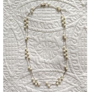 "Collette - 60"" Long Pearl Necklace"